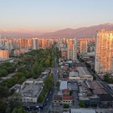 Arrivée à Santiago du Chili