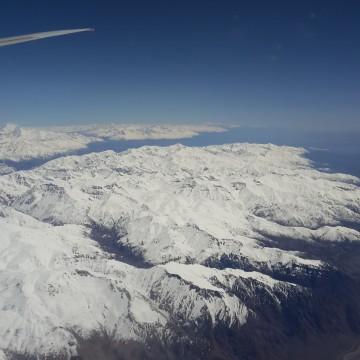 Embarquement pour Santiago du Chili