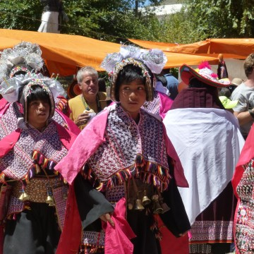 Pujllay & Feria dominical – Tarabuco (Bolivie)