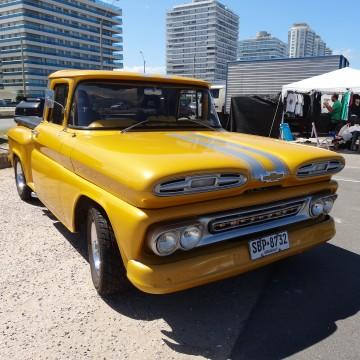 Rassemblement de voitures & motos anciennes – Punta del Este (Uruguay)