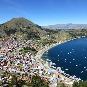 Copacabana – Lago Titicaca (Bolivie)