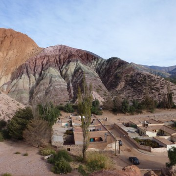 El noroeste argentino : Entre Purmamarca & Mendoza