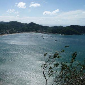 Bahía de San Juan del Sur - Mirador del Cristo de la Misericordia