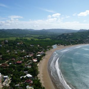 Bahía de San Juan del Sur - Mirador del Cristo de la