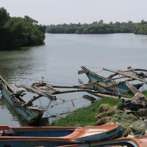 Oruwa, bateau de pêche traditionnel en bois