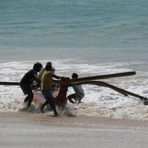 Oruwa, bateau de pêche traditionnel