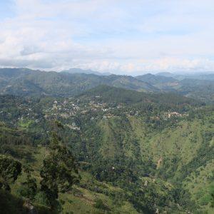 Panorama depuis le sommet d'Ella Rock